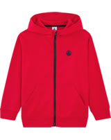 Petit Bateau Sweat jacket with hood for boys peps 54265-06