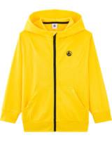 Petit Bateau Sweat jacket with hood for boys shine 54265-02