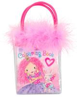 Princess Mimi Mini-Malbuch mit Wachsmalstiften