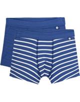 Sanetta 2-er Set Boxershorts Unterhosen STREIFEN true blue 334876-5105