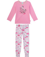 Sanetta Mädchen Pyjama/Schlafanzug Langarm lolly 232410-3813