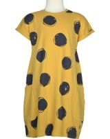 Sanetta Pure Jersey Kleid Kurzarm yellow 10032-2475 GOTS