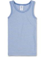 Sanetta Unterhemd ärmellos STREIFEN riviera 333579-50094 GOTS