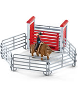 Schleich Bull riding with cowboy 41419