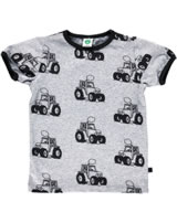 Smafolk T-Shirt Kurzarm TRAKTOR grey mix 72-1003-235