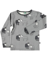 Smafolk Shirt manches longues LOUPS wilde dove 73-0016-234
