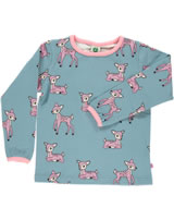 Smafolk Shirt manches longues DEERS stone blue 73-0034-708