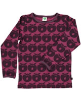 Smafolk Shirt manches longues POMMES maroon-rouge 73-0150-504