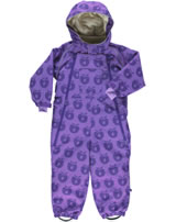 Smafolk Schneeanzug 2 Zipper ÄPFEL m.purple 63-9660-601 BIONIC-FINISH® ECO