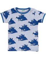 Smafolk Shirt short sleeved DRAGONS sky blue  62-1004-045