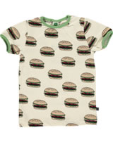 Smafolk T-Shirt Kurzarm BURGER Cream 72-1014-199