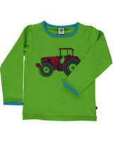 Smafolk T-Shirt Langarm TRAKTOR apple green  51-0034-023