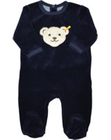 Steiff Romper long sleeve BASIC Teddy marine 0002892-3032