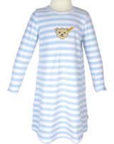 Steiff Nachthemd Nicki BASIC gestreift baby blue 0006578-3023