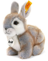 Steiff Rabbit Happy 18 cm grey