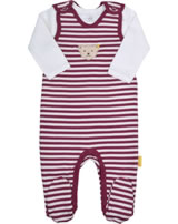 Steiff 2 tlg. Set Spieler und T-Shirt Langarm ROSE DENIM beet red 1922222-4010