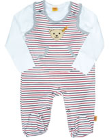 Steiff 2tlg. Set Strampler u. T-Shirt TREASURE ISLAND stripe 6912515-0001