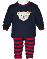 Steiff 2tlg. Set Sweatshirt + Jogginghose LITTLE COUNTRY BOY marine 6842505-3032