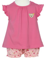 Steiff 2tlg. Set T-Shirt Flügelarm und Shorts LITTLE PEACH tea rose 6912135-2083