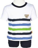 Steiff 2tlg. Set T-Shirt Kurzarm u. Shorts LITTLE ONE allover 6912715-0003