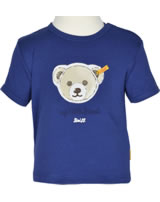 Steiff T-Shirt Kurzarm MY LITTLE FRIEND blue print 6712721-3029