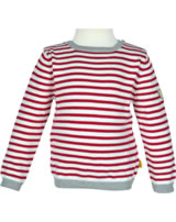 Steiff Pullover SPORTY GIRL tango red gestreift 6713027-2016