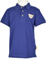 Steiff Polo-Shirt Kurzarm SOLAR POWER blue print 6713621-3029