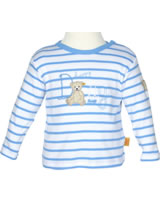 Steiff T-Shirt Langarm SUMMER COLORS milky blue Streifen 6716713-3182