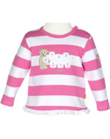 Steiff Sweat-Shirt Langarm SUMMER COLORS hot pink Streifen 6716723-2610