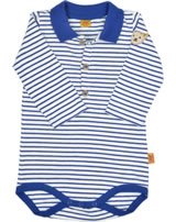 Steiff Polo-Body Langarm SWEET TEDDY BOY sodalite blue 6722501-3136