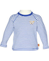 Steiff T-Shirt Langarm SWEET TEDDY BOY sodalite blue 6722521-3136