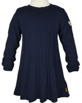 Steiff Strick-Kleid Langarm NAVY BLUE GIRLS marine 6723118-3032