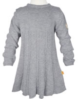 Steiff Long sleeved Dress NAVY BLUE GIRLS softgrey 6723118-8200