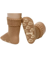 Steiff Babysocken ABS-Stopper Strick BASIC beige 25022-4390