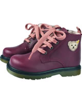 Steiff Ankle Boot Leather LENNI wine red