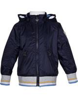 Steiff Jacket with hood CYBER YELLOW marine 6913709-3032