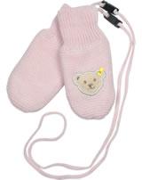 Steiff Baby Gloves ROSE DENIM barely pink 1922235-2560