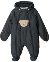 Steiff Baby Snow suit OUTDOOR black iris 1923808-3032