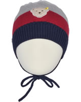 Steiff Baby Strick-Mütze COSY BLUE patriot blue 1921338-6033