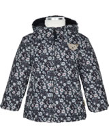 Steiff Baby Winter-Jacke mit Kapuze OUTDOOR black iris 1923810-3032