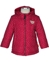 Steiff Baby Winter-Jacke mit Kapuze OUTDOOR tango red 1923810-4008