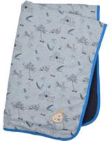 Steiff Babydecke Jersey SAFARI BEAR soft grey melange 2013105-9007