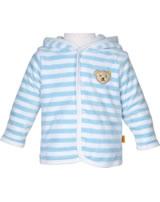 Steiff Baby jacket 1/1 Arm BASIC baby blue 0002857-2560