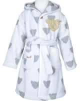 Steiff Bathrobe BEARS softgrey melange 0002937-8200