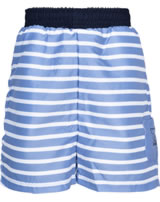 Steiff Badeshorts / Bermuda CRAB MEETS STRIPES BOY forever blue 2014617-6027