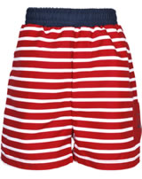 Steiff Badeshorts / Bermuda CRAB MEETS STRIPES BOY tango red 2014617-4008