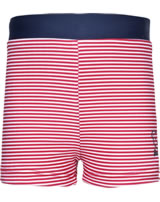 Steiff Badeshorts CRAB MEETS STRIPES BOY tango red 2014607-4008