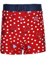 Steiff Badeshorts NAVY HEARTS GIRL tango red 2014604-4008