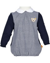 Steiff Dress long sleeves Newborn LITTLE PIRAT Girl marine 6832008-3032