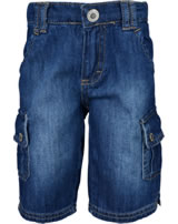 Steiff Bermuda Shorts Jeans SPORTY KIDS blue denim 6913605-0013